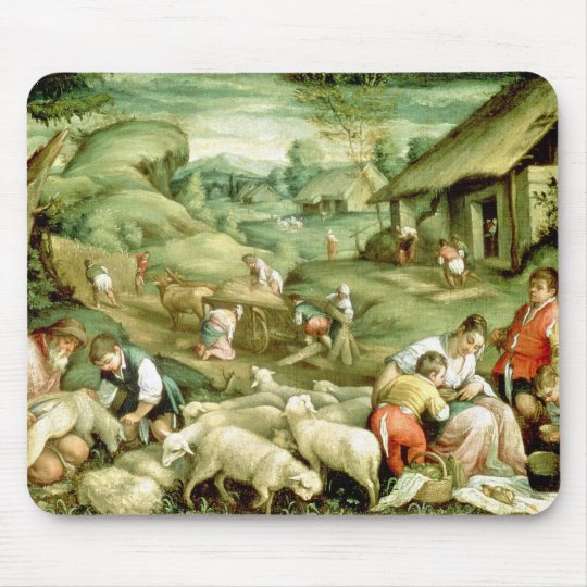 Summer, 1570-80 mouse pad