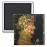 Summer, 1573 2 inch square magnet