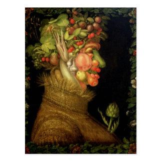 Summer, 1573 postcard