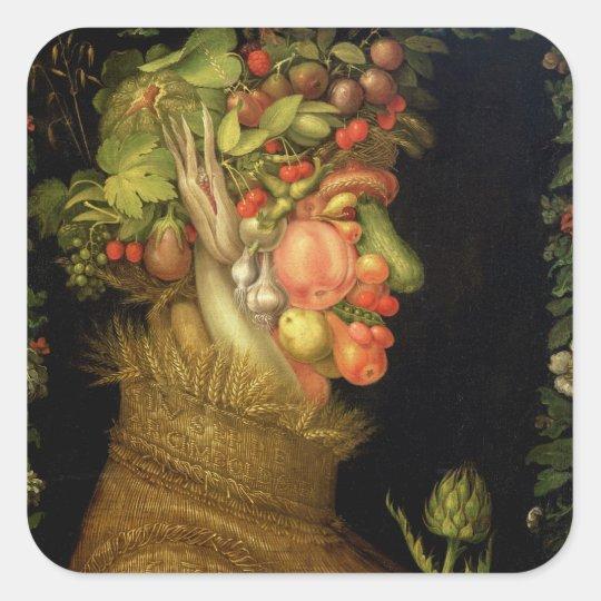 Summer, 1573 square sticker