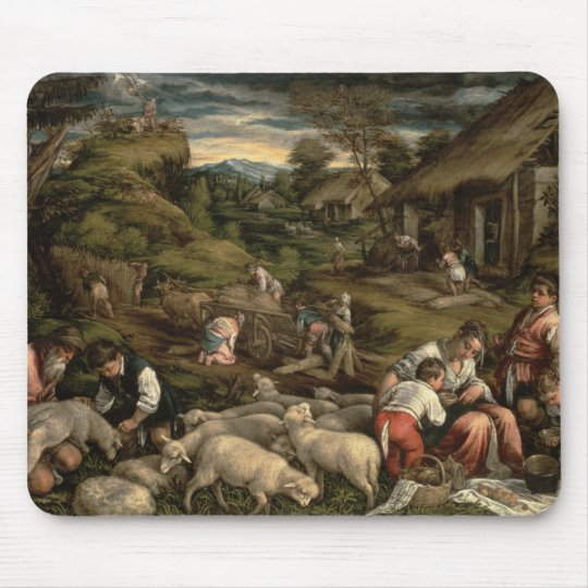 Summer, 1576, mouse pad
