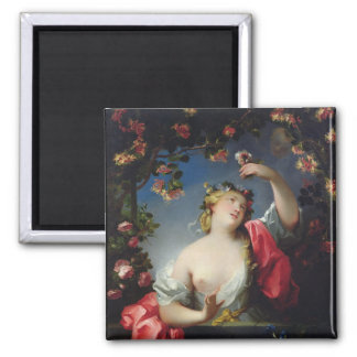 Summer, 1717 2 inch square magnet