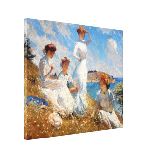 Summer 1909 canvas print