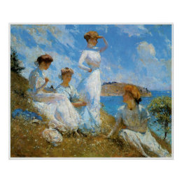 Summer, 1909 Frank Weston Benson Poster