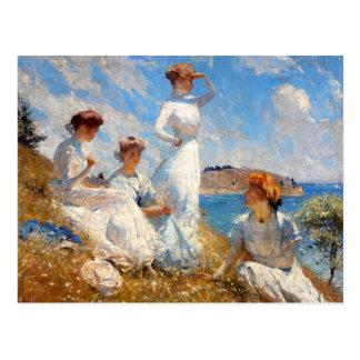 Summer 1909 postcard