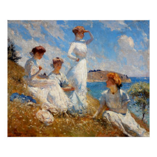 Summer 1909 poster