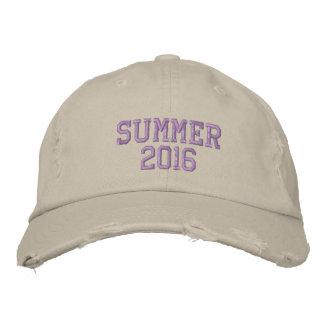 SUMMER  2016 EMBROIDERED BASEBALL CAP