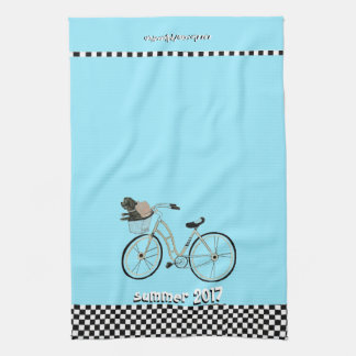 Summer 2017 Bike to The Beach (With your Dog) Towel