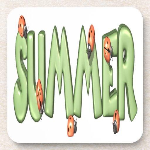 Summer 2 drink coaster