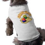 Summer 3 doggie t shirt