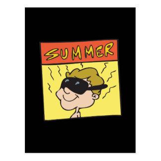 Summer 6 postcard