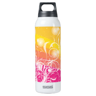 Summer Abstract 16 Oz Insulated SIGG Thermos Water Bottle
