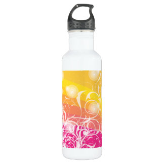 Summer Abstract 24oz Water Bottle