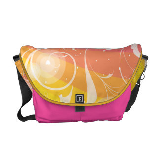 Summer Abstract Courier Bag