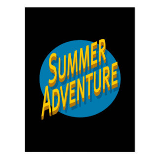 Summer Adventure Postcard
