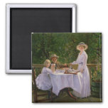Summer Afternoon Tea 2 Inch Square Magnet