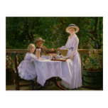 Summer Afternoon Tea Postcard