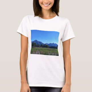 Summer Alaskan Mountain Range T-Shirt