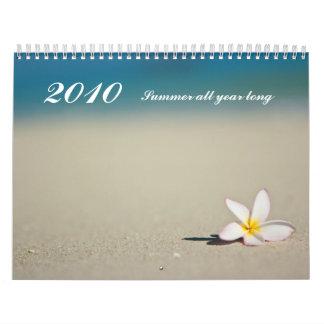 Summer all year long, 2010 calendar