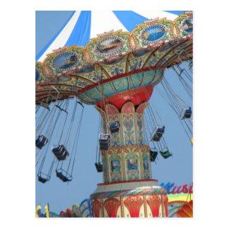 Summer amusement postcard