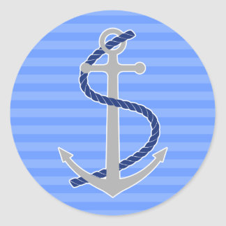 Summer Anchor Sticker