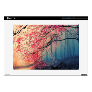 """Summer and winter in the forest 15"""" laptop skins"""