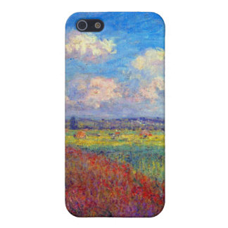Summer art impressionist poppy fields by Monet Case For iPhone SE/5/5s