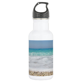 Summer At The Beach Stainless Steel Water Bottle