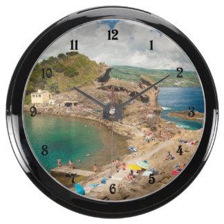 Summer at the islet aqua clocks