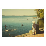 Summer at the lake posters & prints