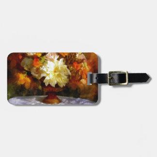 Summer-Autumn flower Arrangement Luggage Tag
