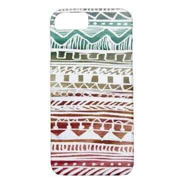 Aztec Themed Summer Aztec Pattern iPhone 8/7 Case