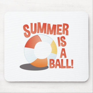 Summer Ball Mouse Pad