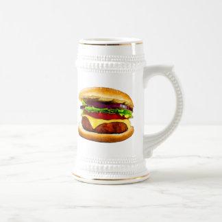 Summer Barbecue Burger Beer Stein