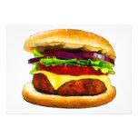 Summer Barbecue Burger Invite