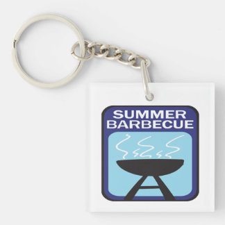 Summer Barbecue Keychain