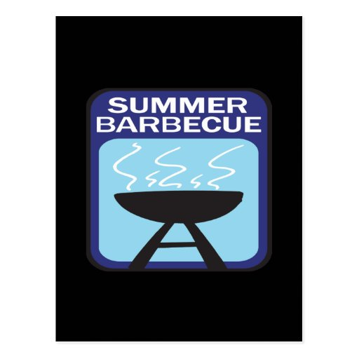 Summer Barbecue Postcard
