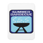 Summer Barbecue Rectangular Magnets
