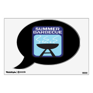 Summer Barbecue Wall Decal