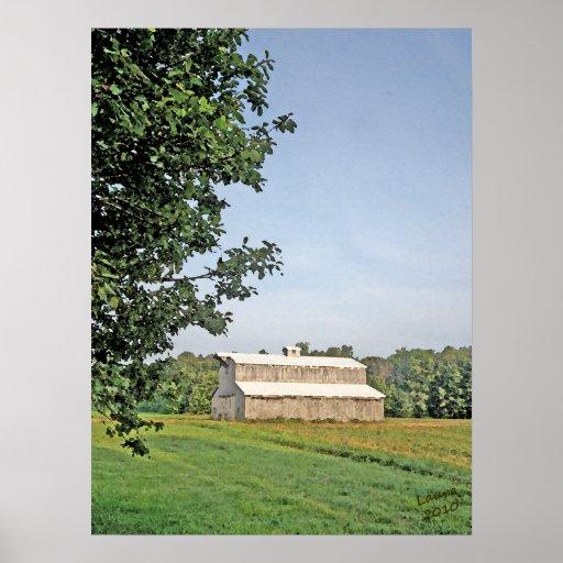 Summer Barn Poster