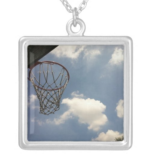 Summer Basketball Necklace