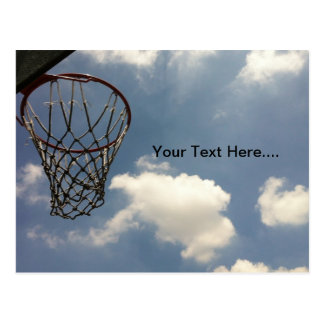 Summer Basketball Postcard