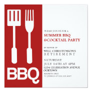 Summer BBQ Party Invitations at Zazzle
