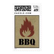 Summer BBQ Stamp at Zazzle