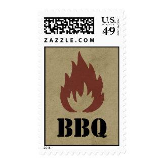 Summer BBQ Stamp