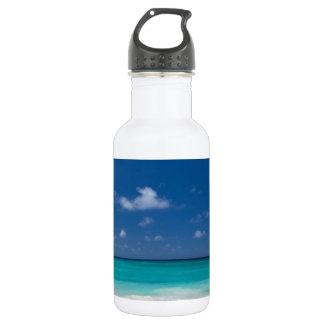 Summer Beach 18oz Water Bottle
