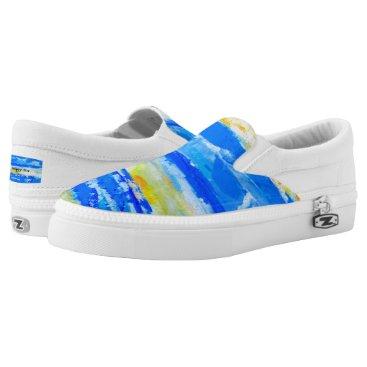 Beach Themed Summer Beach Artist-Designed Sneakers