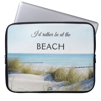 Summer Beach Dunes Laptop Sleeve