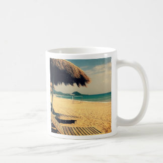 Summer Beach Greeting Coffee Mug