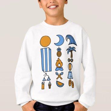 Beach Themed Summer beach life sweatshirt